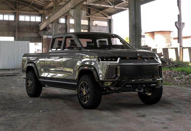 Atlis XT är en eldriven pickup som företaget hoppas kunna lansera under 2020.
