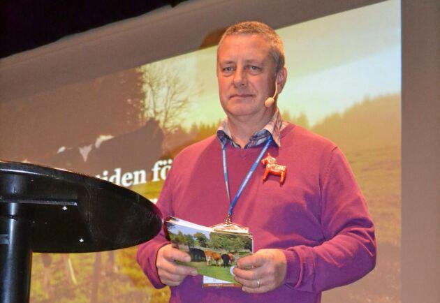 Jan Forssell blev omvald till ordförande för Sveriges Nötköttsproducenter.