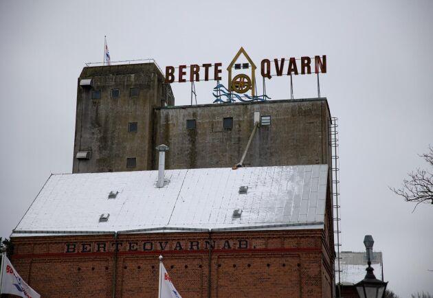Berte Qvarn är ett landmärke för de som kör på E6 mellan Göteborg och Helsingborg.