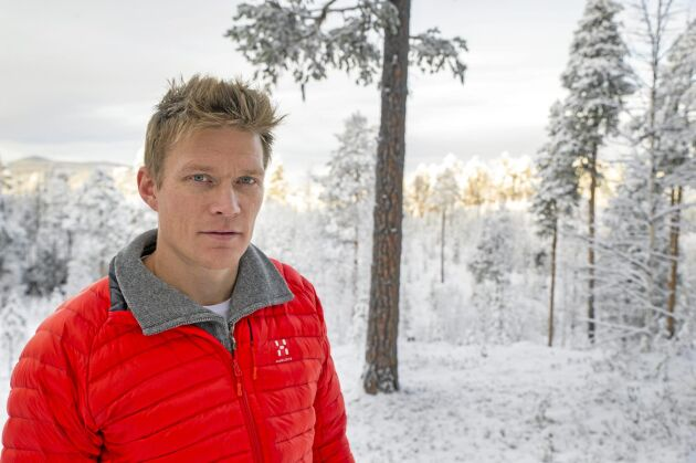 Christian Rimpi är allmänningsförvaltare för Jokkmokks Allmänning.