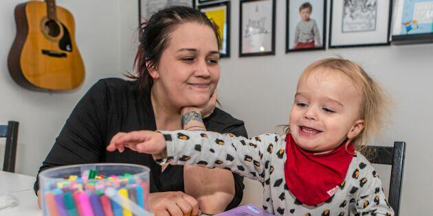 """Småbarnsmamman Annika fick diagnosen ALS vid 28 års ålder: """"Mina dagar är räknade"""""""