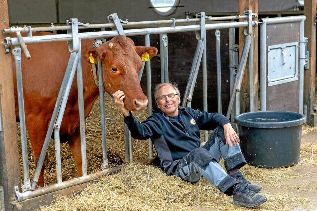 – Människa och djur och natur ska utvecklas tillsammans. Och ekologiskt är viktigt, säger Per Brunberg som ofta gått sina egna vägar - tillsammans med andra.