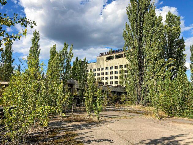Ukrainas president Volodymyr Zelenskyj har utsett den förbjudna zonen till en officiell turistattraktion.