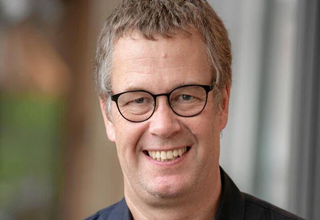 Mats Johansson, lärare och forskare på textilhögskolan i Borås.