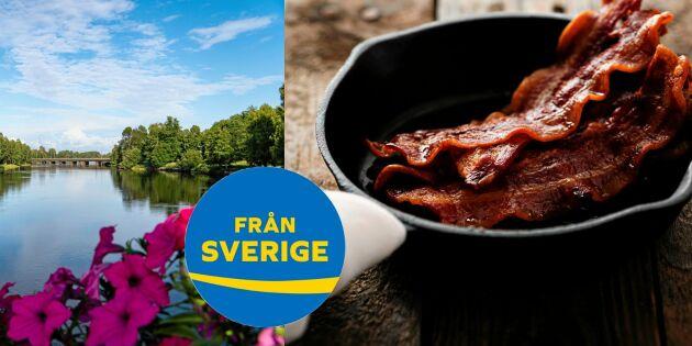 Från Sverige-resan: Värmland bjuder på det godaste goda