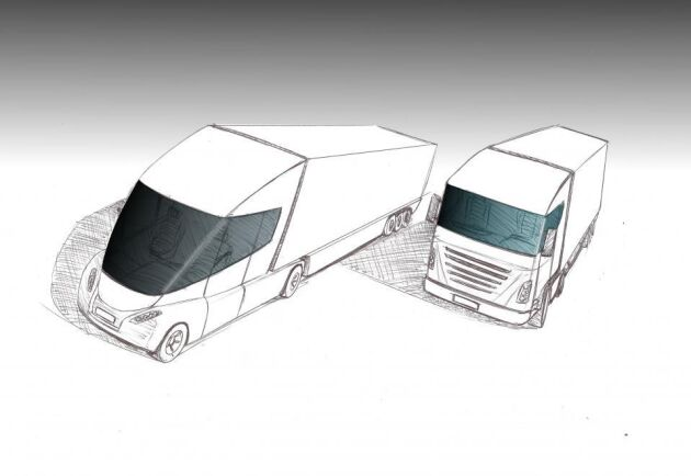 Den nya designen kommer bland annat ge bättre sikt för förare.