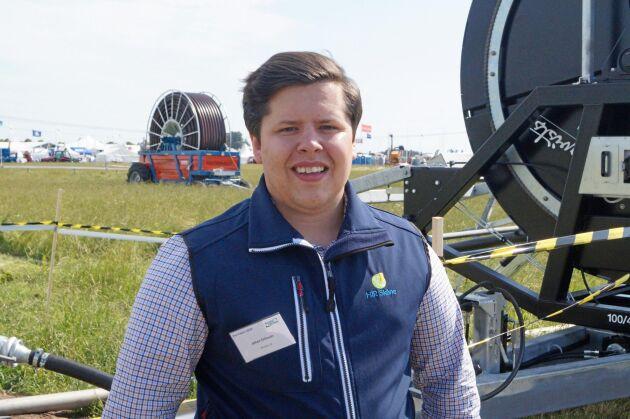 Johan Eriksson, ekonomirådgivare på HIR Skåne.