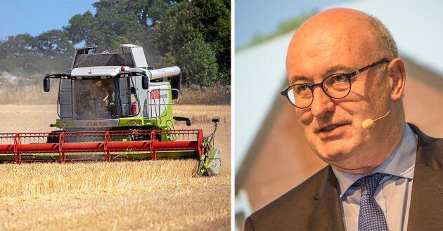 EU:s jordbrukskommissionär Phil Hogan presenterade i fredags ett höjt förskott på miljöstöden, med tanke på den omfattande torkan i Europa.