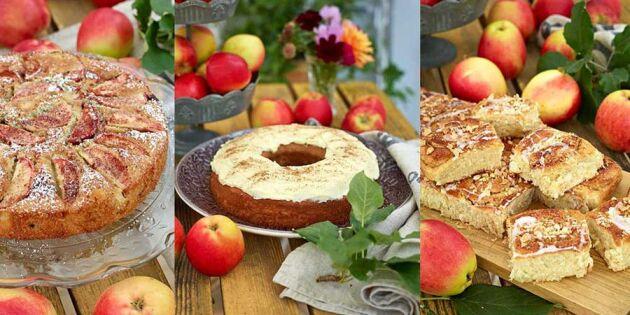 5 fantastiska recept med älskade äpplen – smakar himmelskt!
