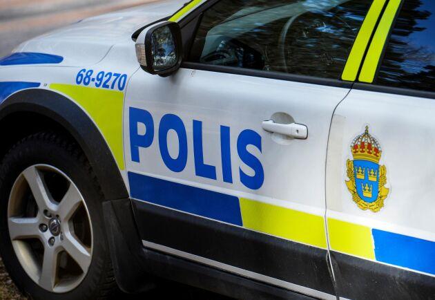 Polisen fick jaga efter en 15-årig A-traktorförare i tre mil för att få stopp på fordonet. Arkivbild.