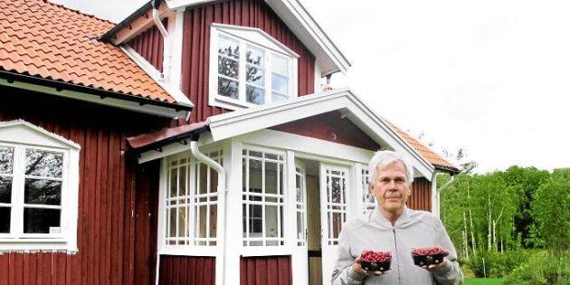 Sven har Sveriges enda tranbärsodling