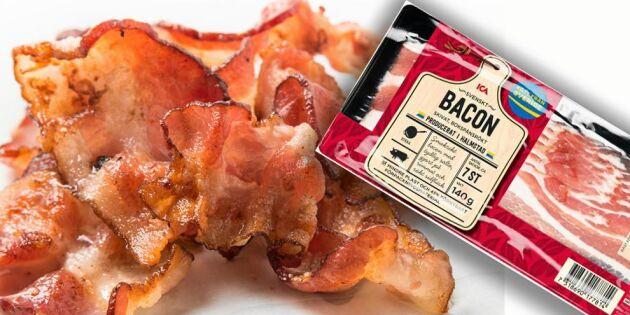 Icas bacon blir helsvenskt – tar hem produktionen från Nederländerna