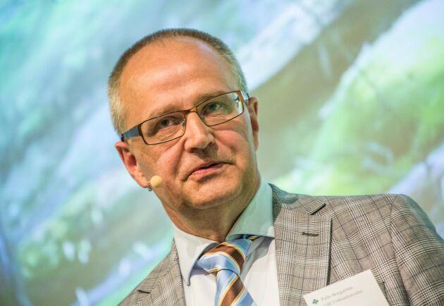 Palle Borgström, förbundsordförande för LRF, kräver förenklade regler för Sveriges bönder för att livsmedelsstrategin ska fungera.