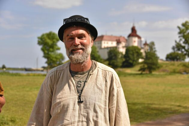 """""""Att jag valde Sankt Olavsleden känns rätt naturligt. Den går genom min hembygd och jag behöver inte resa särskilt långt för att kunna starta vandringen"""", säger Lars Andersson."""