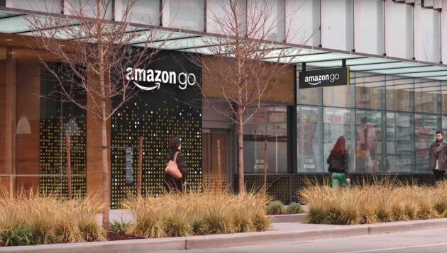 Amazons nya butik ligger i deras kontorsbyggnad i Seattle.