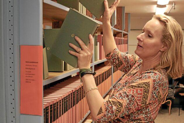 Anna Treschow, rättspolitisk expert på LRF Skogsägarna.
