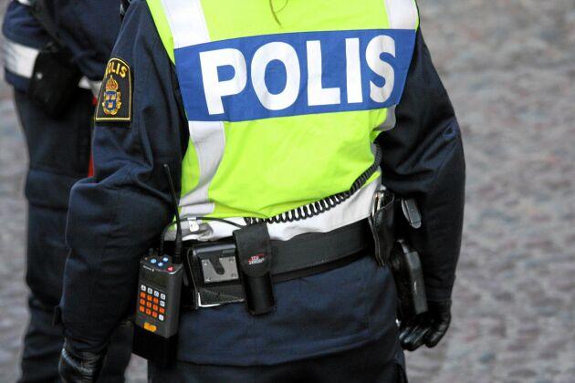 Det rörde sig om en massiv polisinsats när fyra män på tisdagsmorgonen greps i olika byar i Dalarna misstänkta för illegal vargjakt.