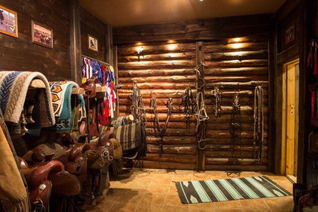 Sadelkammaren, praktisk och prydlig förvaring