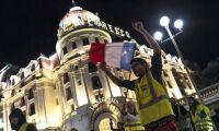 En död i franska trafikupproret