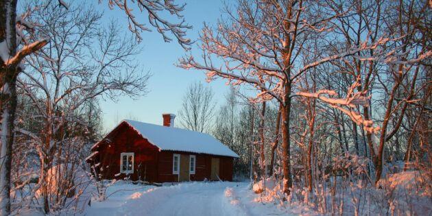 SMHI: Snö kan bli en bristvara i Sverige