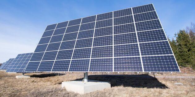 Ny storstöld av solpaneler