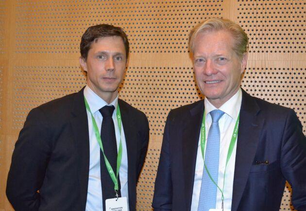 Agronom Per Wijkander med lantbruk i Upplands-Bro och civilekonom Johan Bygge med lång erfarenhet av internationellt företagande valdes in i Lantmännens styrelse under föreningsstämman i Stockholm.