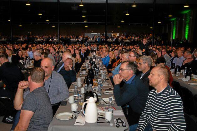 Det var 1 520 deltagare anmälda när den danska griskongressen startade. Ytterligare några hundra ansluter under de två dagar som den pågår.