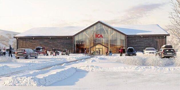 Ica bygger butik i trä