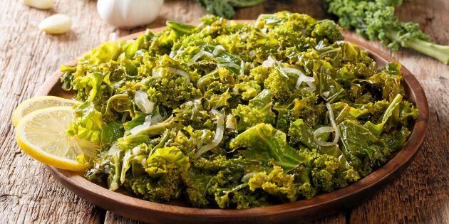 Halländsk grönkål med skinkspad