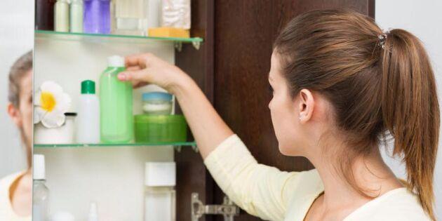 Detoxa badrumsskåpet! 9 steg som räddar dig och miljön