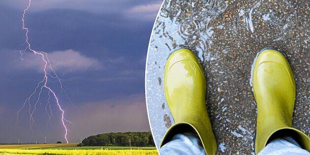 Experten förklarar: Därför skyddar INTE gummistövlar mot blixten