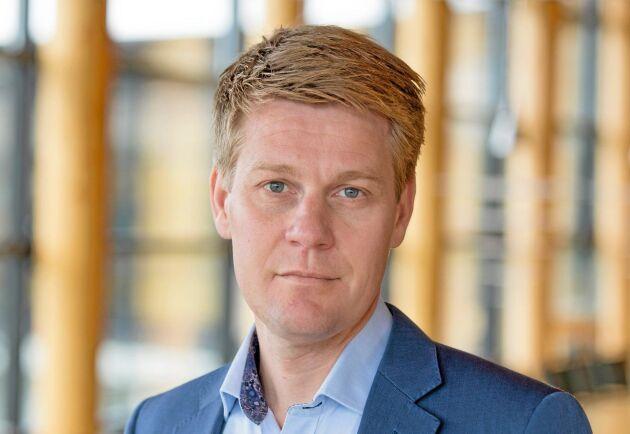 – Vi kan känna oro för logistiksystemet framåt, och stängda gränser brukar inte underlätta, säger Olof Hansson.