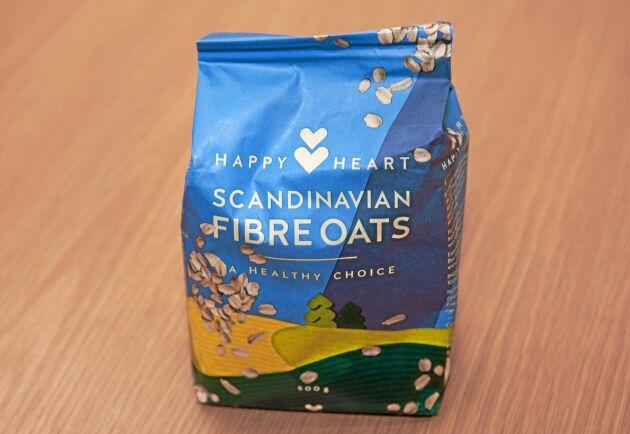 Entradias Happy Heart marknadsförs som ett nyttigt livsmedel. Målet är att ha 20 procent av havregrynsmarknaden i Ghana.