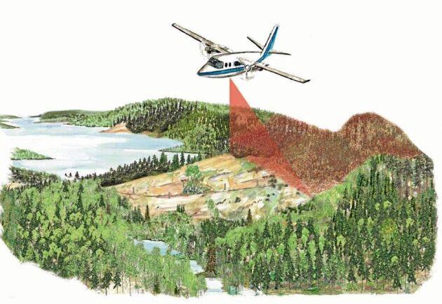 I början av nästa år startar en ny skanning av hela landets skogar.
