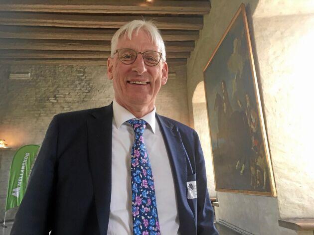Sture Karlsson, avgående VD på Mellanskog.