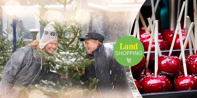 Hurra! Nu startar Land Shoppings julmarknad