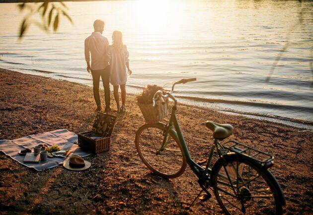 Promenaden eller cykelturen kan bli för varm för maten.