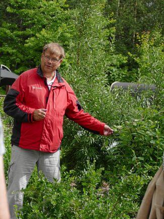 Leif Blomqvist, författare och expert på bärväxter.