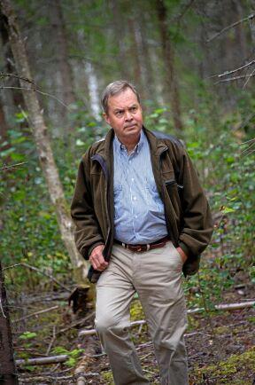 Skogen är både levebröd och fritidsintresse för Karl Hedin. Sen han tog över familjens sågverksföretag 1983 har omsättningen ökat från 180 miljoner kronor till 4,7 miljarder.