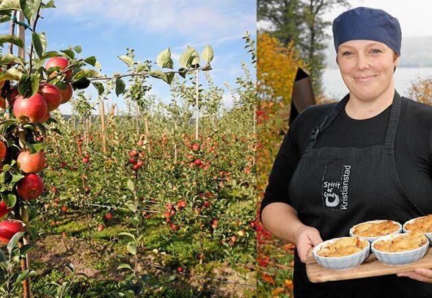 Fruktodlaren Annika Olsson driver Vånga 77.1, ett framgångsrikt gårdskafé med restaurang och gårdshotell.
