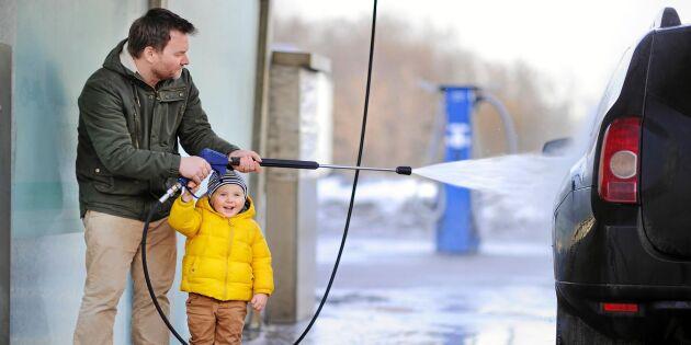 Expertens 5 gyllene regler i biltvätthallen