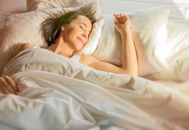 Ett svalt sovrum, bättre än ett gott samvete.