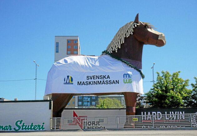 Från skaparna av Svenska Maskinmässan kommer nu Swedish Forestry Expo, en mässa med fokus på skogsmaskiner som kommer hållas på Solvalla 2021. Bilden är från Svenska Maskinmässan 2018.