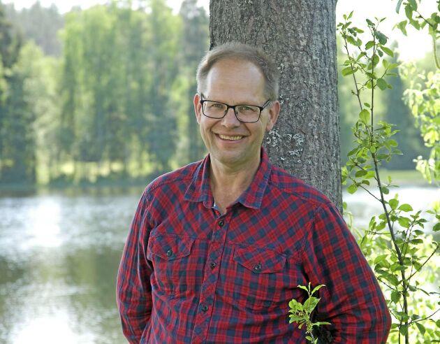 Leif Öster, krönikör i Land Skogsbruk.