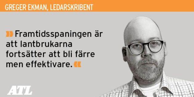 Digitaliseringen är en chans att stärka svenskt lantbruk