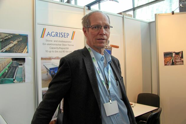Reinhold Håkansson, CEO på Agec, Höör.