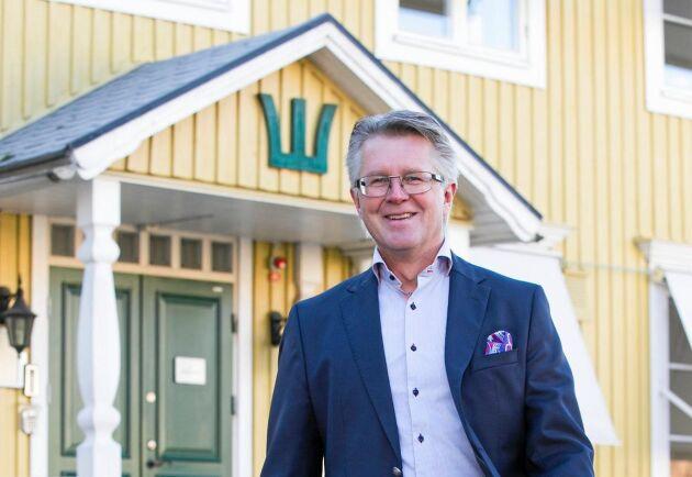 Mats Oja, inköpschef på Sveaskog.