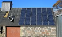 Låna ut taket för sol-elsproduktion