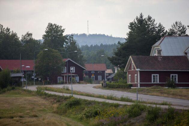 Kårböle i Ljusdals kommun är en av de området som drabbats hårt av bränderna.