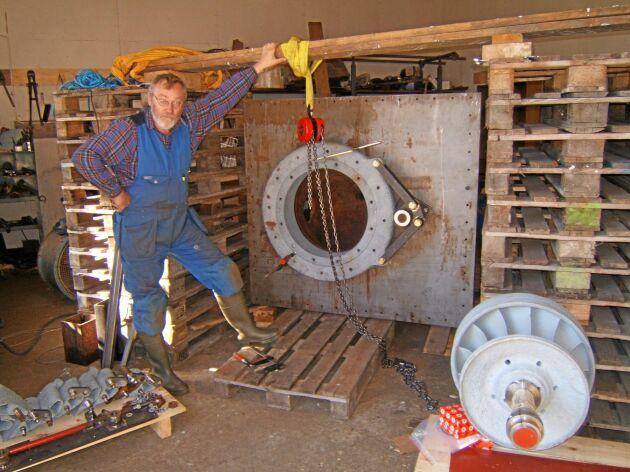 Kvarndammens kraftverk var i drift fram till 2017. Peder Fries hade planer på att utöka elproduktionen.